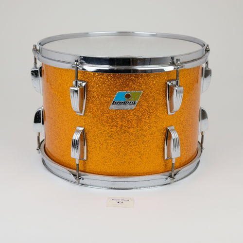 "1976 Ludwig Tom 13"" x 9"" Gold Sparkle finish"