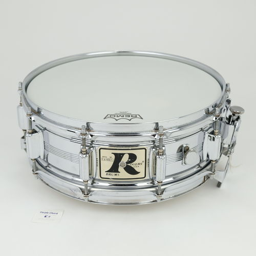 "1975 Rogers Dynasonic COB 14"" x 5"" snare drum, Big R badge"