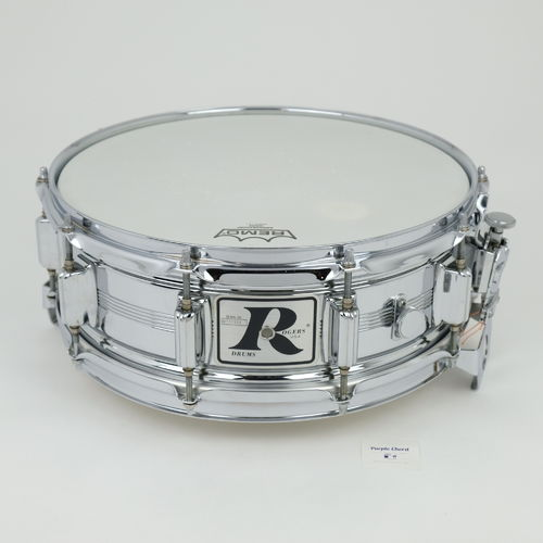 "1977 Rogers Dynasonic COB 14"" x 5"" snare drum, Big R badge"