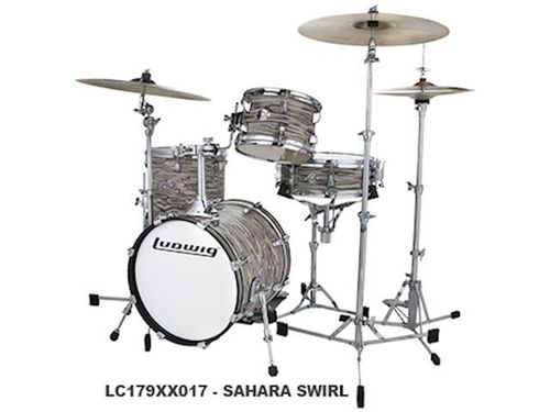 Ludwig Breakbeats by Questlove Sahara Swirl 4pc LC179XX017 - NEW