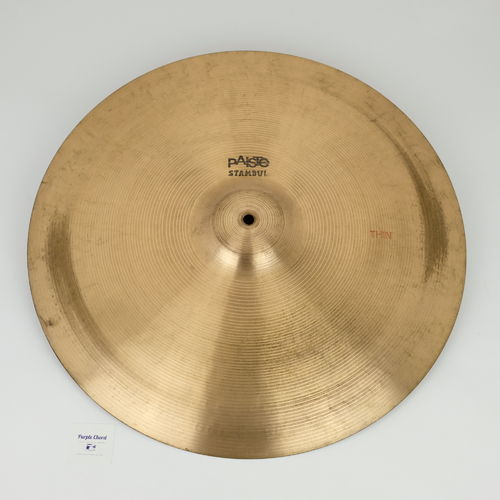"20"" Paiste Stambul Thin, 1545 grams from 1960's"