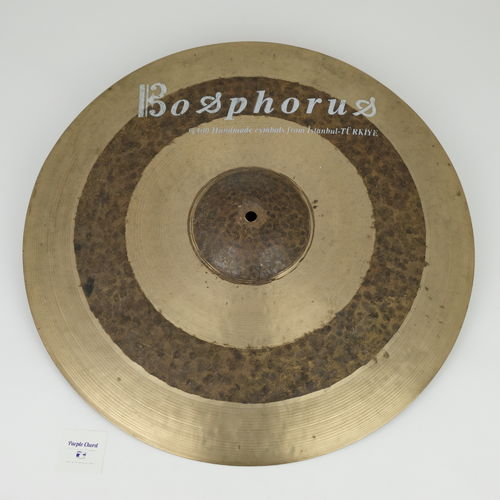 "20"" Bosphorus Antiq ride, 2273 grams, first series"