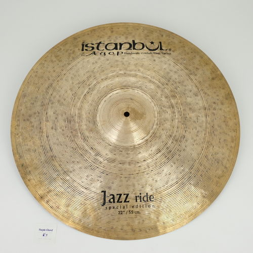 "22"" Istanbul Special Edition Jazz Ride, 2216 grams"