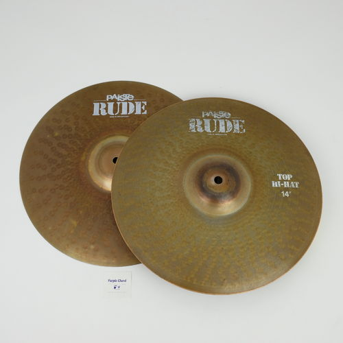 "14"" Paiste RUDE Hi-Hat, 1157 and 882 grams from 2003"