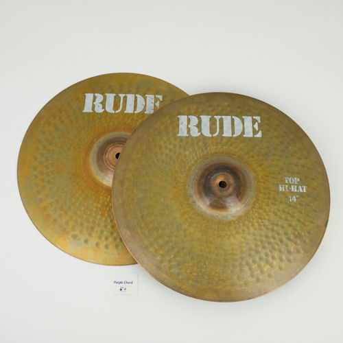 "14"" Paiste RUDE Hi-Hat, 1149 and 881 grams from 1981"