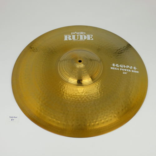 "24"" Paiste RUDE The Eclipse Mega Power Ride, 4774 grams from 2015"
