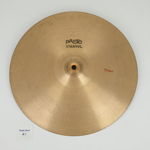 "15"" Paiste Stambul Thin 688 grams from 1960's"