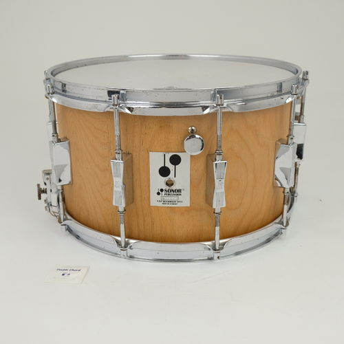 "Sonor Phonic Plus D518 14"" x 8"" snare drum 9-ply Beechwood shell from 1980's"