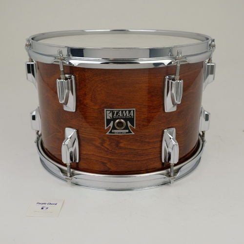 "Tama Superstar Super Mahogany Tom 12"" x 8"" Made in Japan from 1980's"