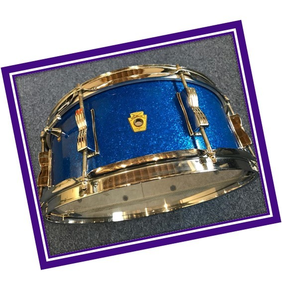 1965_Ludwig_Classic_snare_blue_sparkle