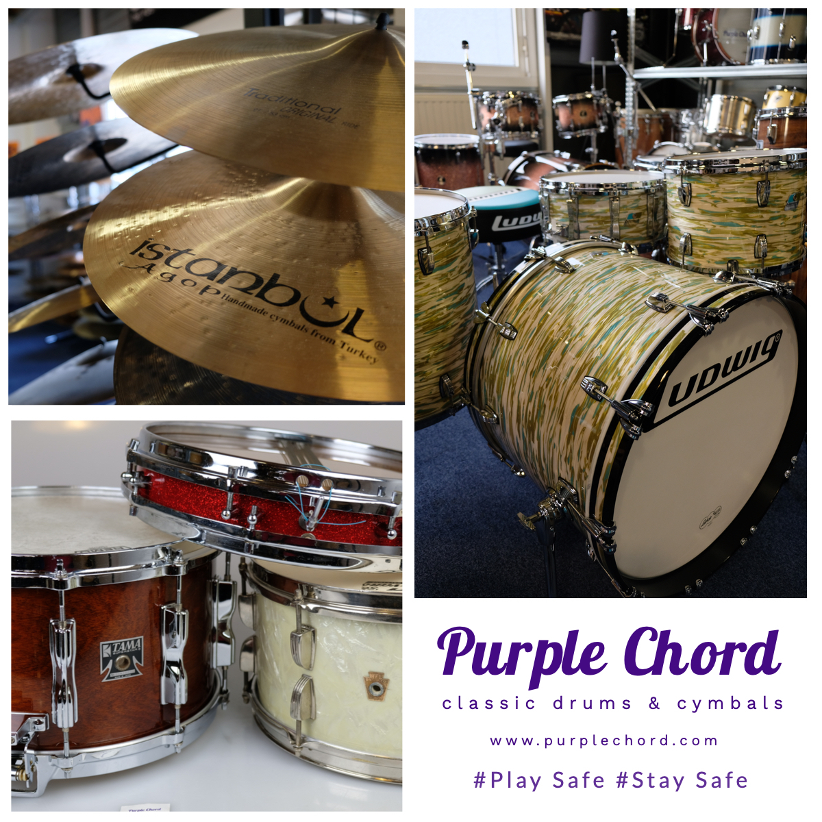 Play_safe_Stay_Safe with Purple Chord
